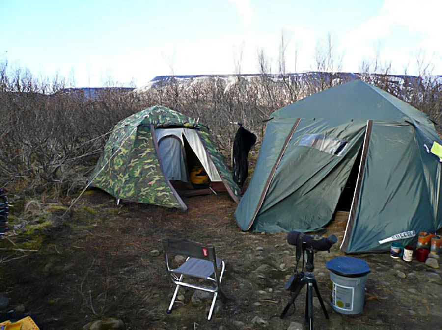 Hunting Method and Spike Camp Accommodations